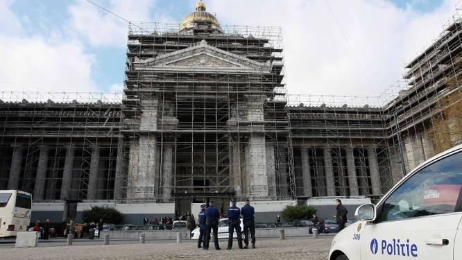 Verdachte bommelding Justitiepaleis in Brussel terug vrijgelaten