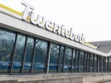 Goten rondom recreatiebaden Twentebad in Hengelo lek: repareren duurt de hele maand december