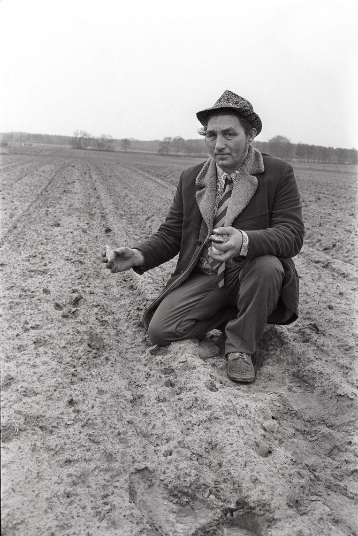 Tjerk Vermaning in Havelte op 13 mei 1975. Beeld Rob Bogaerts