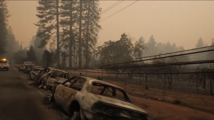 Stad in Californië volledig weggevaagd door vlammenzee