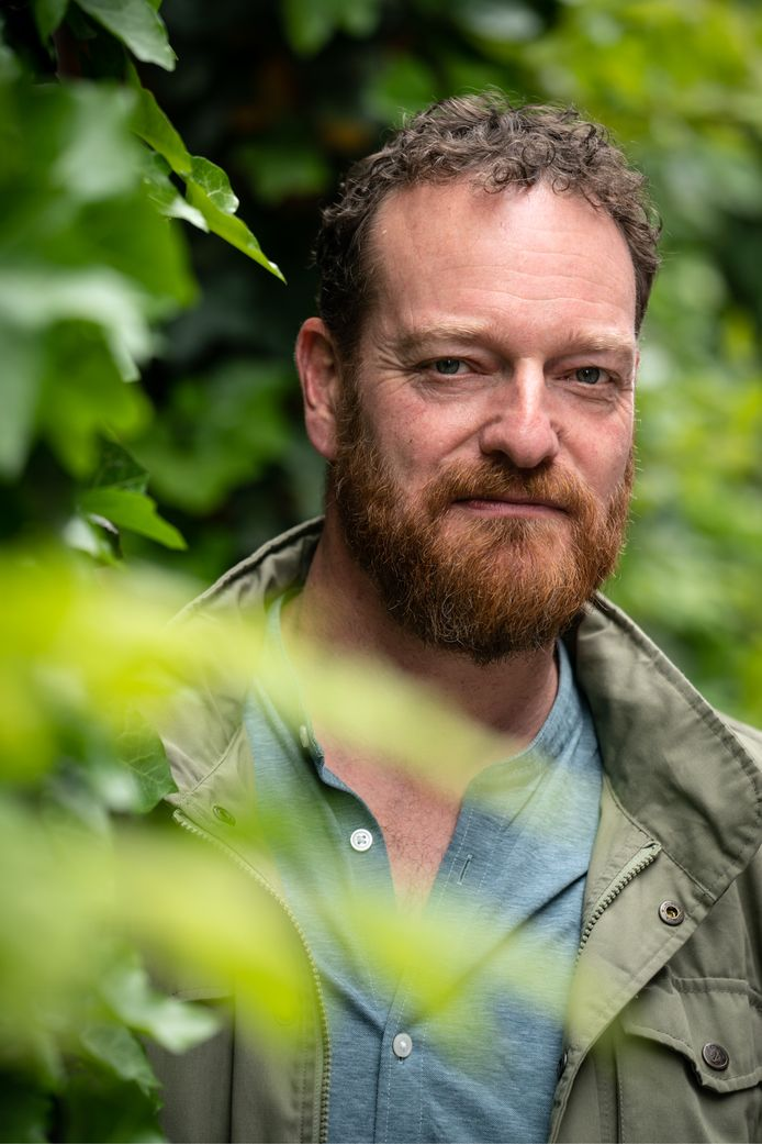 Johan Mees stadsbioloog van de Gemeente Den Bosch.