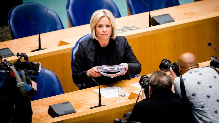 De positie van de minister was niet langer houdbaar. Beeld ANP
