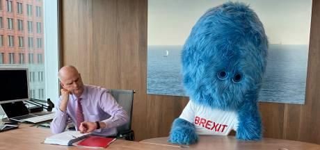 Minister Blok haalt op brexitdag het brexitbeest weer van stal