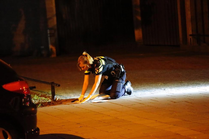Sporenonderzoek van de politie