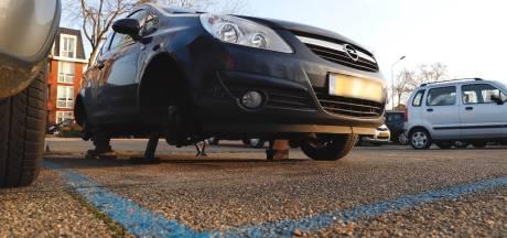 Drie wielen gestolen van auto in Cuijk