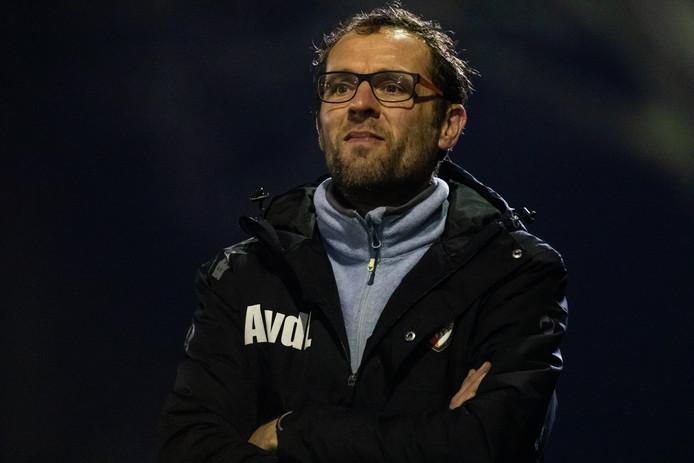 TEC-trainer Arjan van der Laan.