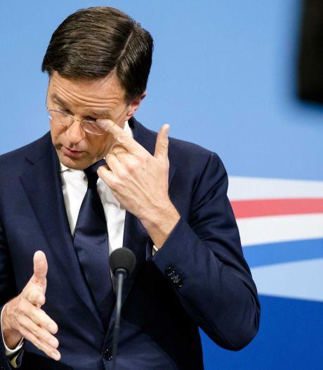 Rutte over coalitieruzie: 'Het was een pittige week'