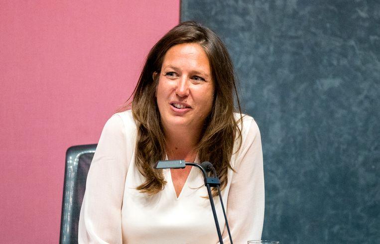 Wethouder onderwijs, inburgering, armoede en schuldhulp Marjolein Moorman van de PvdA. Beeld ANP