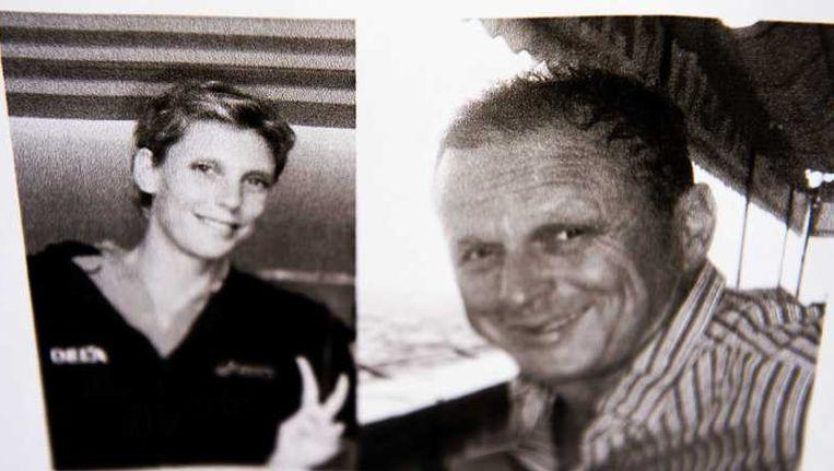 De opsporingsfoto's van Ingrid Visser en Lodewijk Severein. Beeld anp