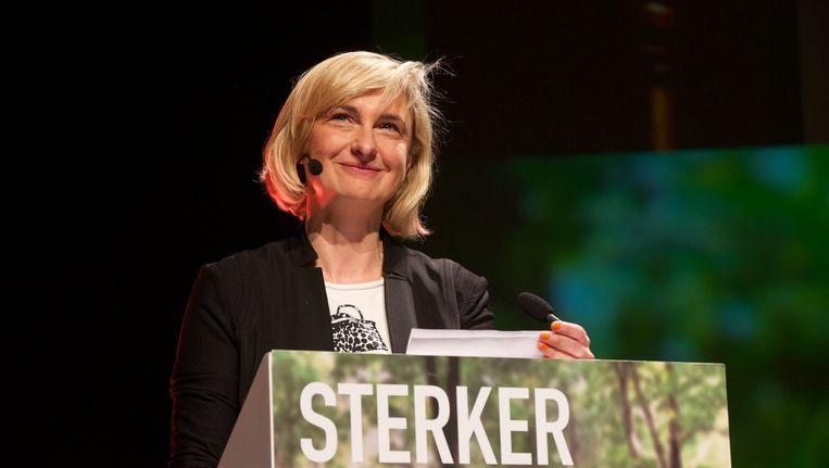 CD&V-boegbeeld Hilde Crevits toont zich bezorgd over het verdict van de kiezer.