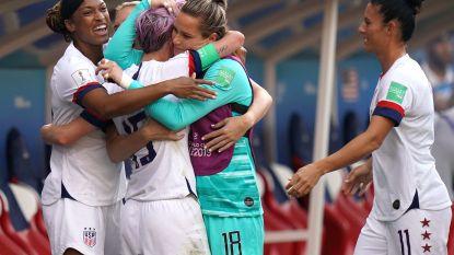 WK vrouwenvoetbal. Amerikaanse voetbalsters schakelen stug Spanje uit - Zweden zegeviert tegen Canada