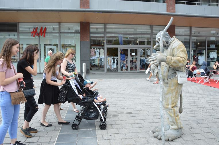'Family First day' in het Ninia Shopping Center in Ninove.