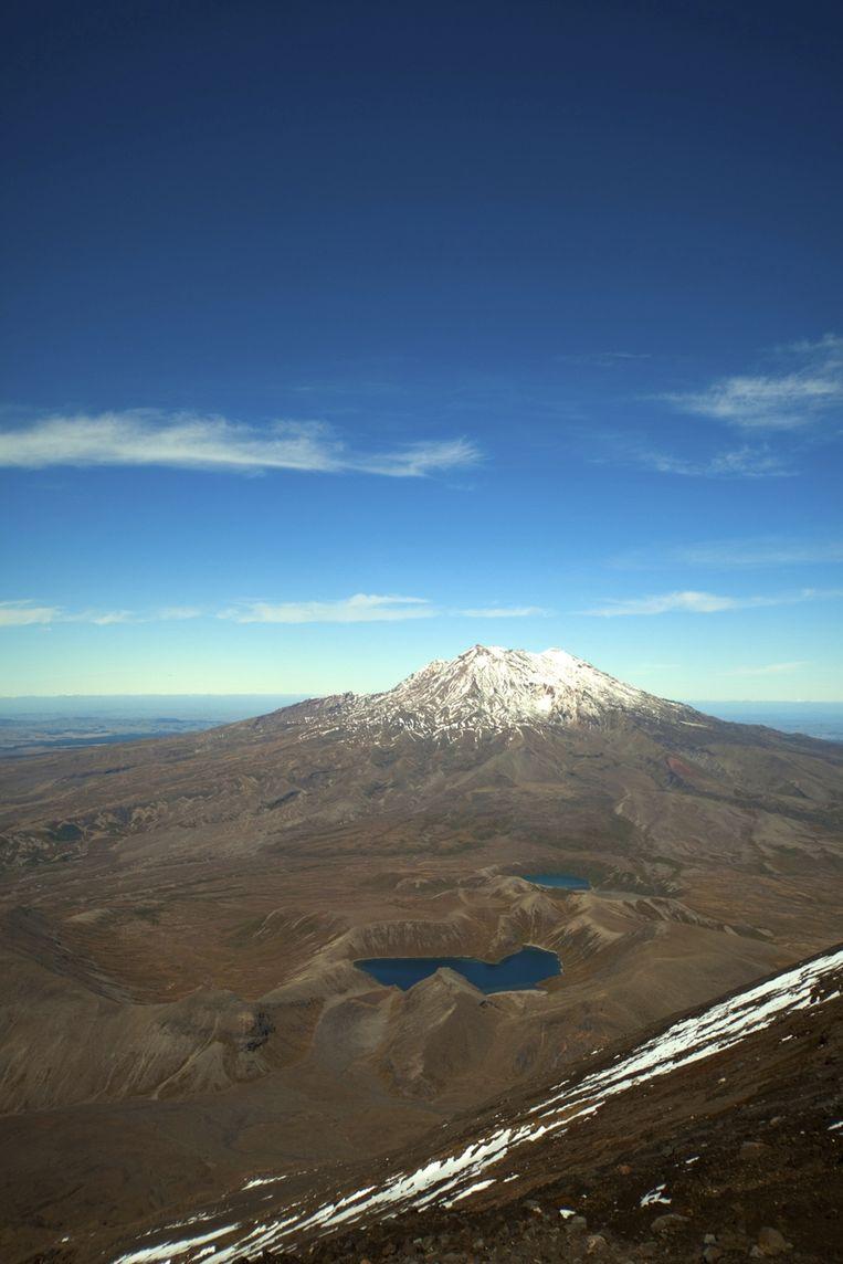 Mount Ruapehu in Nieuw-Zeeland Beeld Thinkstock