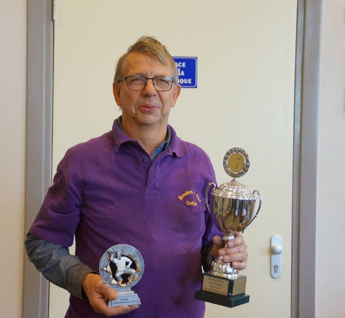 Winnaar Karel van Luijk.