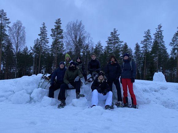 De leerlingen in Finland.