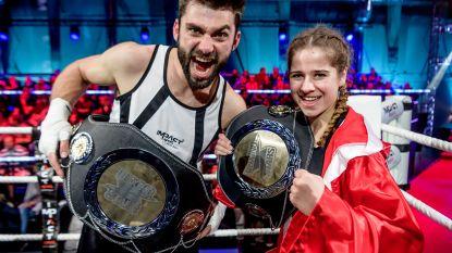 Laura Tesoro en Sieg De Doncker meppen zich naar eerste overwinning in 'Boxing Stars' (+ wat u niet zag op tv)