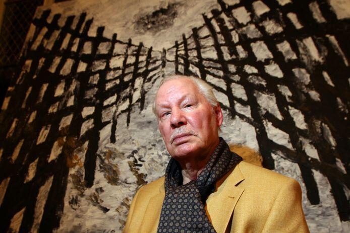 Kunstenaar Armando (1929-2018).