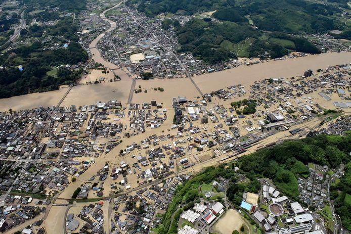 Hitoyoshi, le 4 juillet 2020.