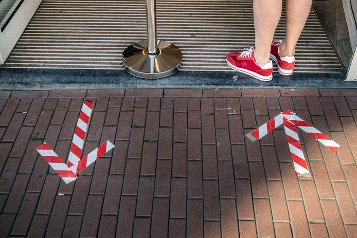 Lijnen en pijlen: het begint normaal te worden in het straatbeeld.