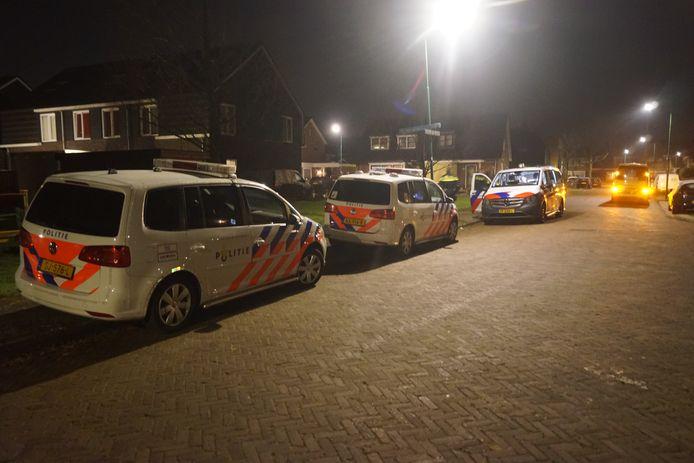 De Poolse vrouw stak haar echtgenoot  neer in een woning in Bunschoten-Spakenburg.
