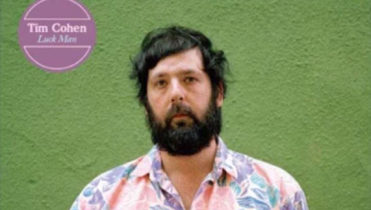 Albumhoes van Tim Cohens Luck Man. Beeld