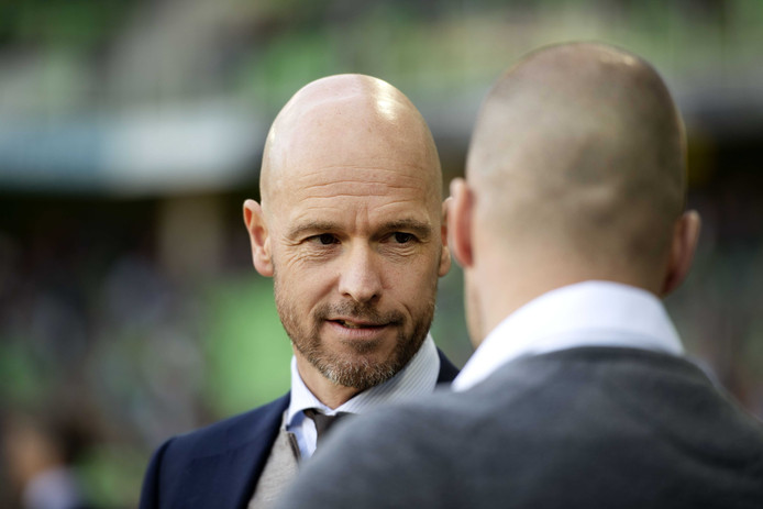 Erik ten Hag, trainer van Ajax