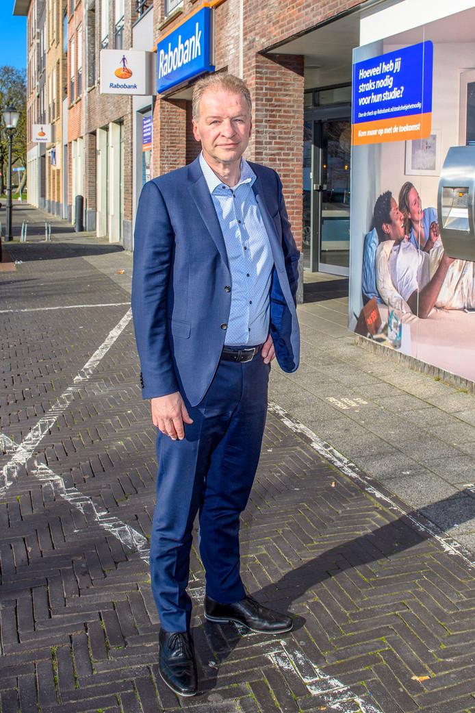 Rabodirecteur Johan Staes.