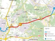 A28 bij Rijnsweerd hele weekend afgesloten door werkzaamheden