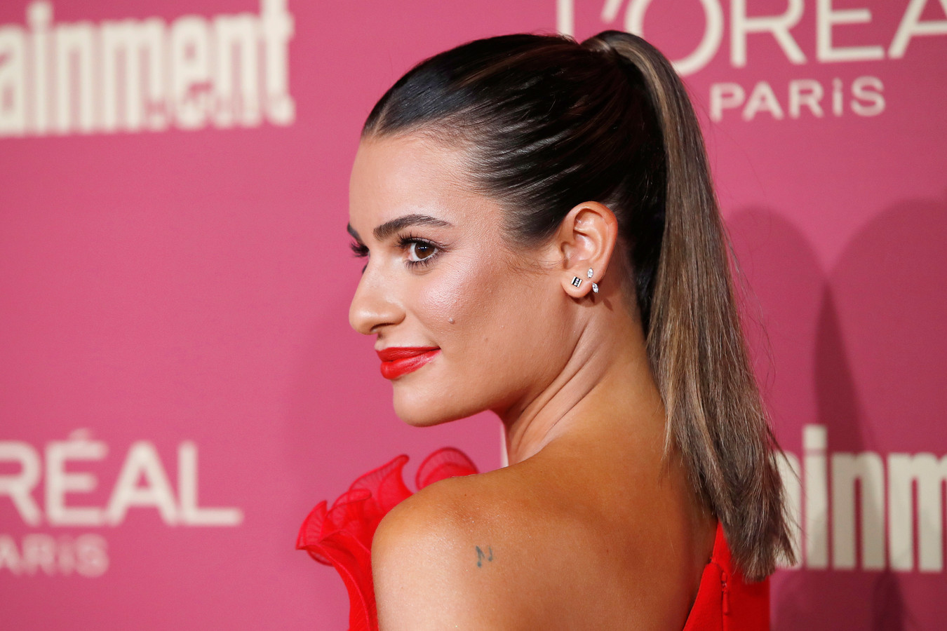 Glee-actrice Lea Michele.