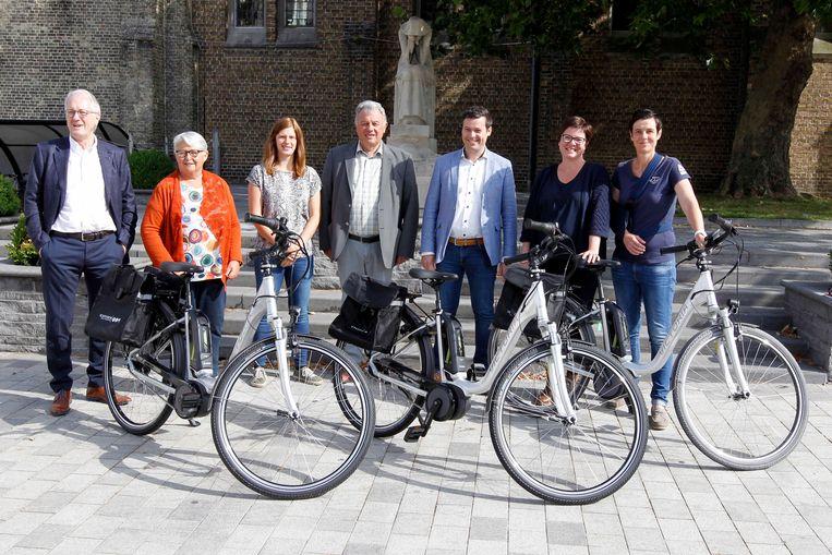Het gemeentebestuur stelt een interne fietscampagne voor