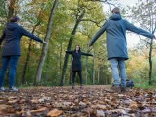 Het bos in gestuurd en toch zen zijn, dankzij loopcoach: 'Wandelen werkt, ook tegen werkstress'
