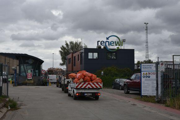 Brand bij Renewi