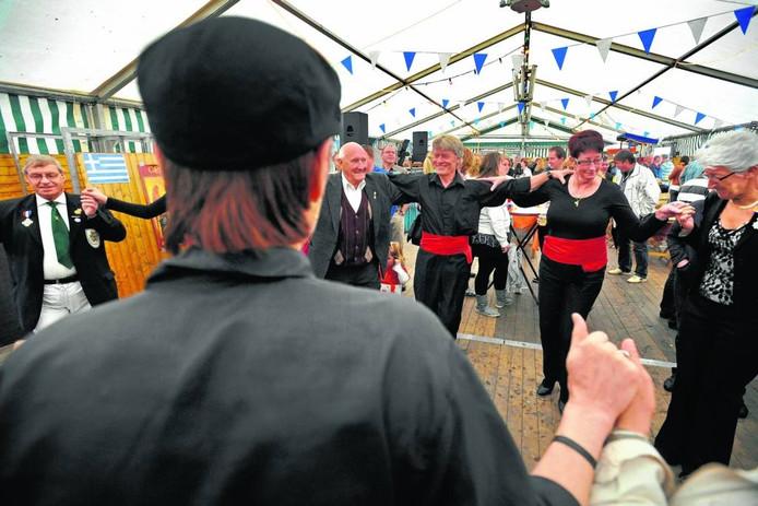 Koninginnedag in Millingen, 2010. foto Bert Beelen