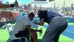 Ref die Kyrgios moed insprak op US Open, heeft protocol overschreden