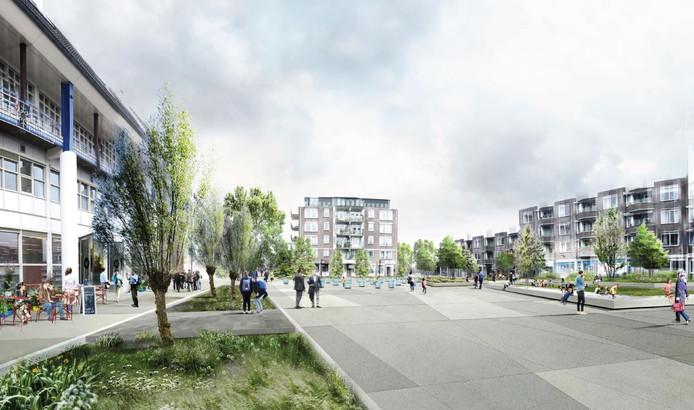 Inwoners van Leerdam kozen voor dit ontwerp voor het Reilinghplein.