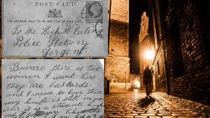 """""""Mijn mes doet het nog goed"""": kaartje opgedoken met griezelige boodschap die Jack The Ripper geschreven zou hebben net voor laatste moord"""