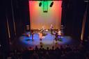 Optreden voor Cresco-project in de Scala-zaal in Helmond