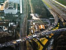 Files door ongelukken bij Schiedam en Beneluxtunnel