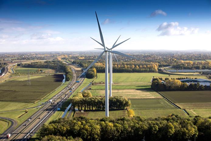Windpark Nijmegen-Betuwe