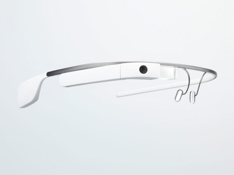 Een Google Glass. Beeld