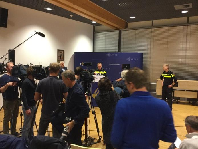 De persconferentie van woensdagavond.