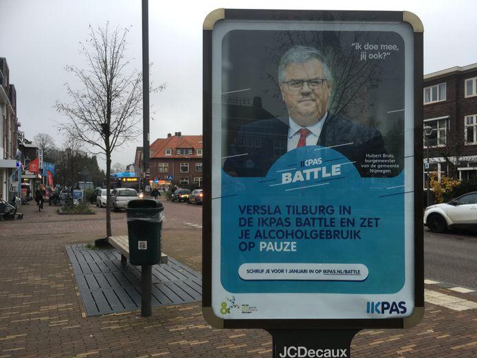 Oproep voor deelname aan de IkPas Battle tussen Nijmegen en Tilburg.