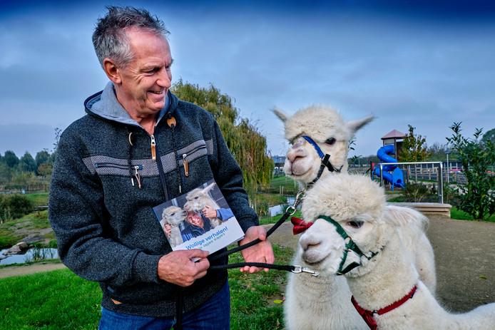 Alpaca's Ohio en Kwint hebben nu een eigen boekje: Wollige Verhalen, geschreven door Bas Kooij.