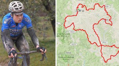 363 Watt na vijf uur: de cijfers achter de derde plek van Wout van Aert in de Strade Bianche