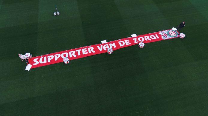 Op het veld van FC Twente