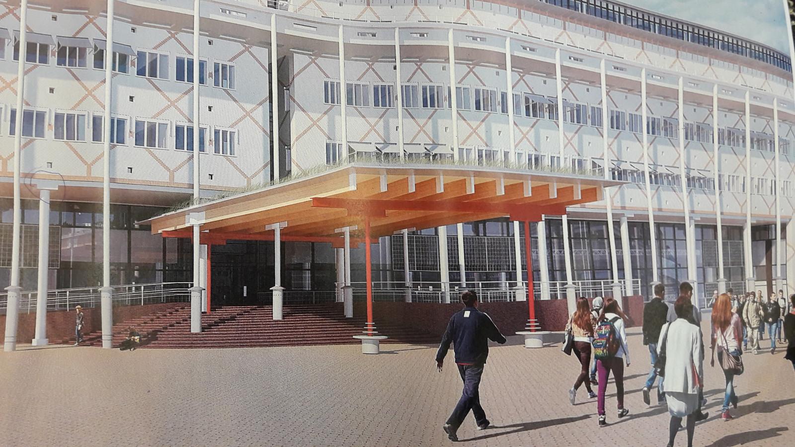 Een impressie van het vernieuwde stadhuis van Apeldoorn. Of beter: Huis van de stad.