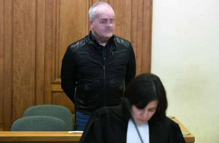 Paul Bloemen op zijn proces.