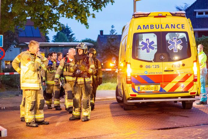 Een felle brand zorgde vannacht voor schade in Eerbeek.