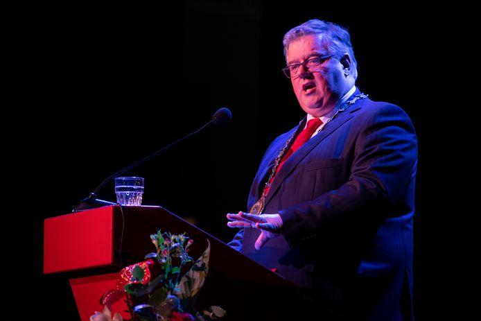 Hubert Bruls, burgemeester van Nijmegen.