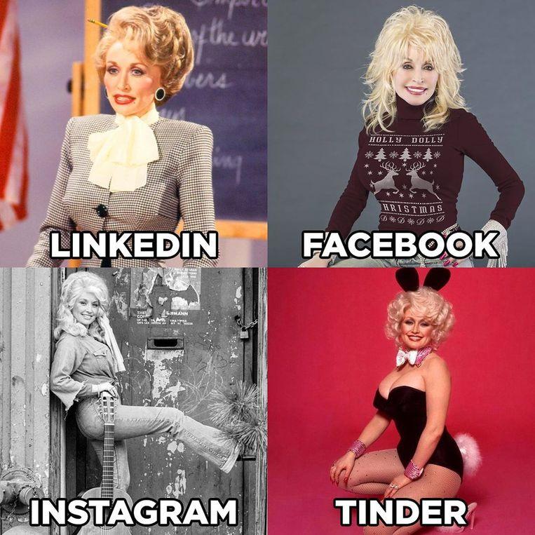 De foto-challenge van Dolly Parton.